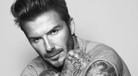 David Beckham sap tung dong my pham dau tien hinh anh