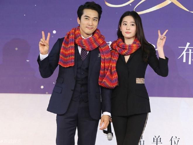 Luu Diec Phi va Song Seung Hun co tinh tranh mat nhau hinh anh 2
