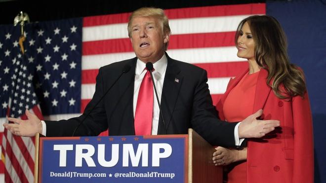 Vo Donald Trump - tu sieu mau den hinh anh de nhat phu nhan hinh anh 14