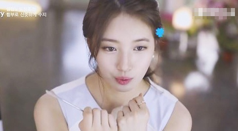Suzy tiet lo bi quyet trang diem hinh anh