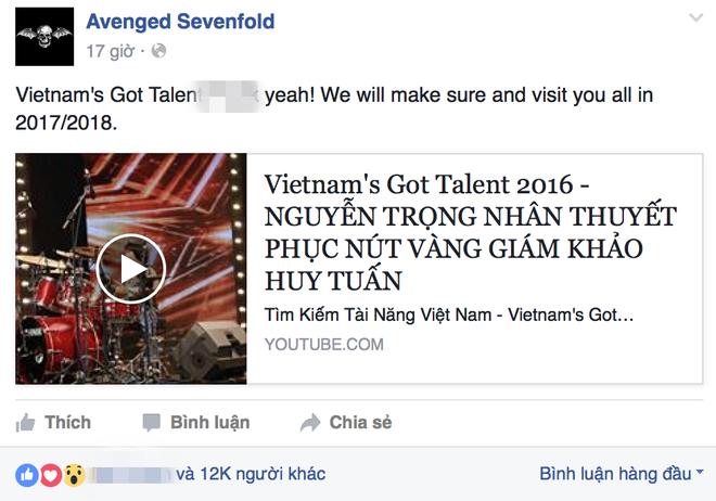Nhom rock dinh dam the gioi hua den Viet Nam vi Trong Nhan hinh anh 1