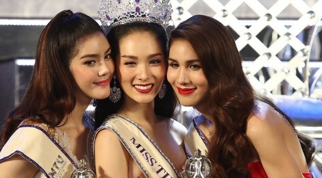 Nguoi mau 22 tuoi len ngoi Hoa hau chuyen gioi Thai Lan 2016 hinh anh