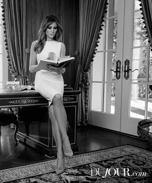Vo Donald Trump: 'Toi khong chi dep ma con thong minh' hinh anh 1