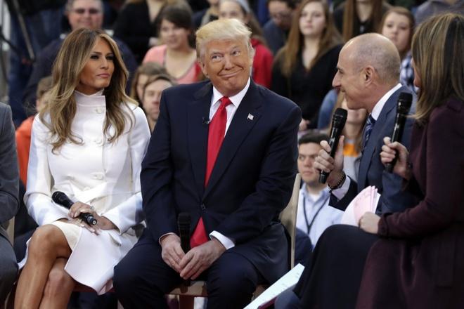 Vo Donald Trump: 'Toi khong chi dep ma con thong minh' hinh anh 4