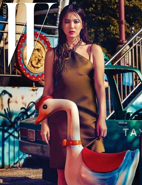 Song Hye Kyo bi an tren tap chi hinh anh 2