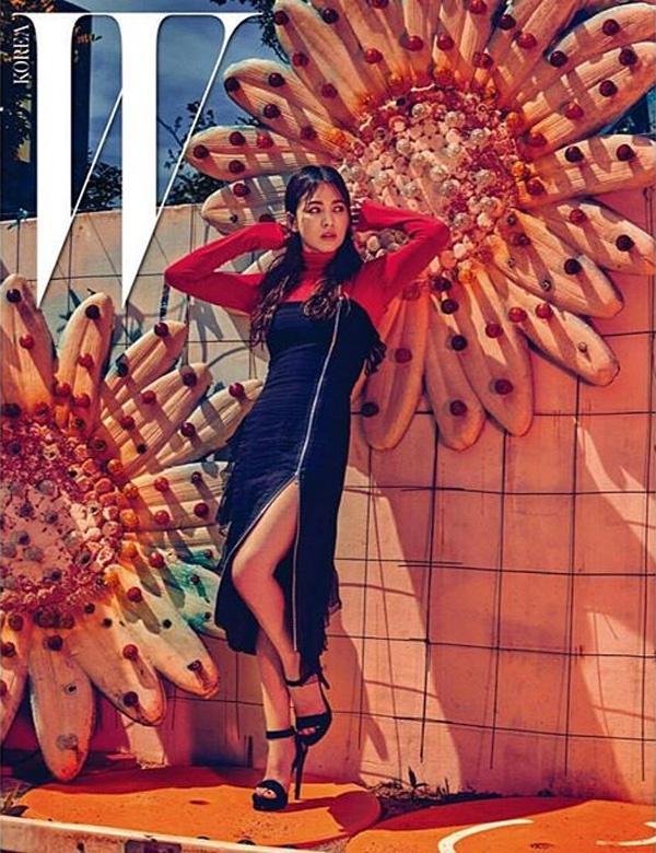 Song Hye Kyo bi an tren tap chi hinh anh 3