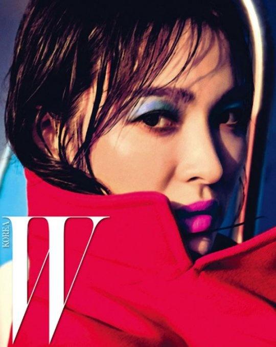 Song Hye Kyo bi an tren tap chi hinh anh 4