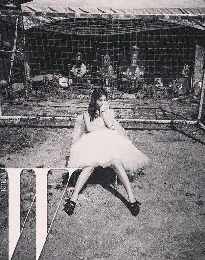 Song Hye Kyo bi an tren tap chi hinh anh 6