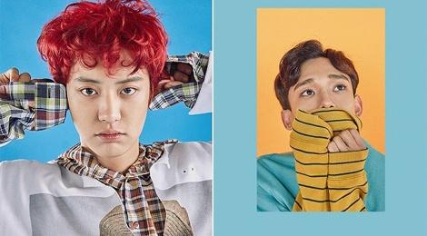EXO tung tao hinh trong album moi hinh anh