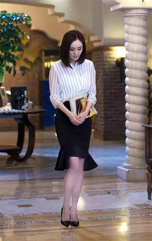 Boc mac thoi trang hang hieu cua Duong Mich trong phim hot hinh anh 8