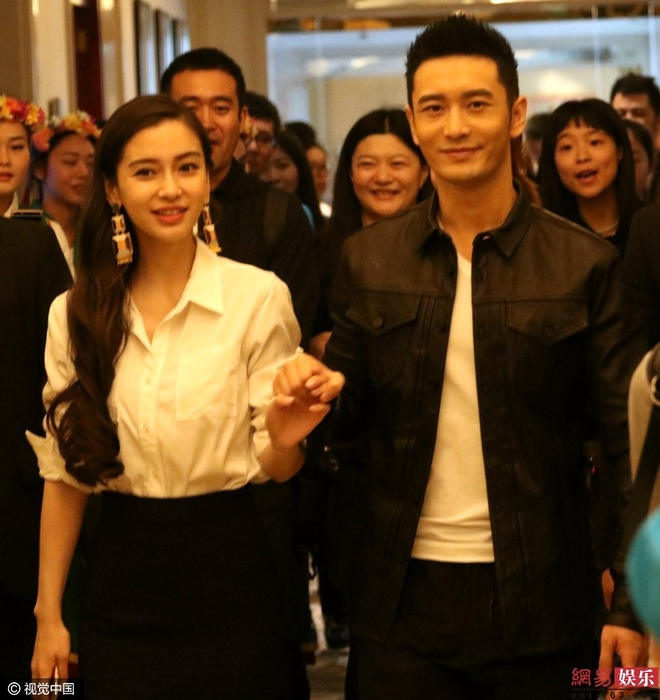 Huynh Hieu Minh ghen khi Angelababy om ban dien hinh anh 2
