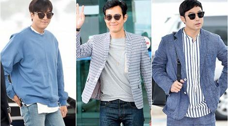 Lee Min Ho do thoi trang san bay voi dan anh hinh anh