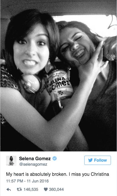 Selena Gomez khoc tren san khau tuong niem Christina Grimmie hinh anh 1
