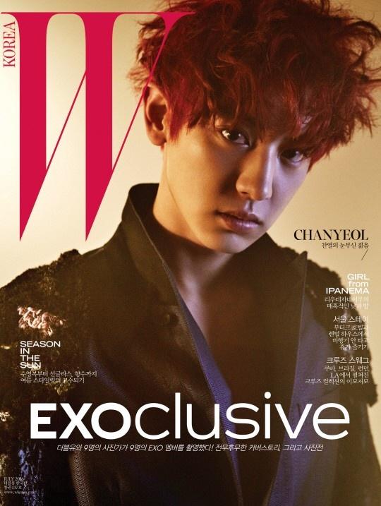 9 hot boy EXO do bo tap chi thoi trang hinh anh 2