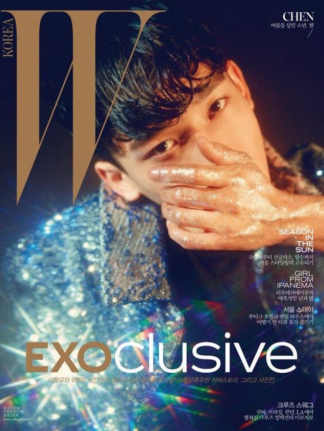 9 hot boy EXO do bo tap chi thoi trang hinh anh 3