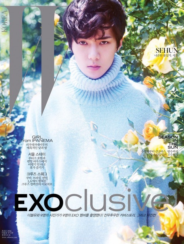 9 hot boy EXO do bo tap chi thoi trang hinh anh 8