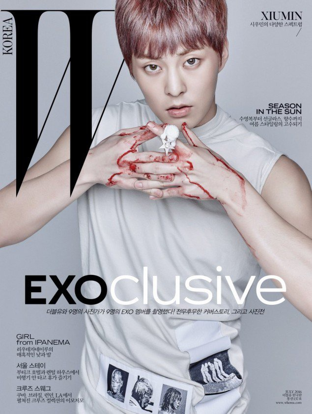 9 hot boy EXO do bo tap chi thoi trang hinh anh 9
