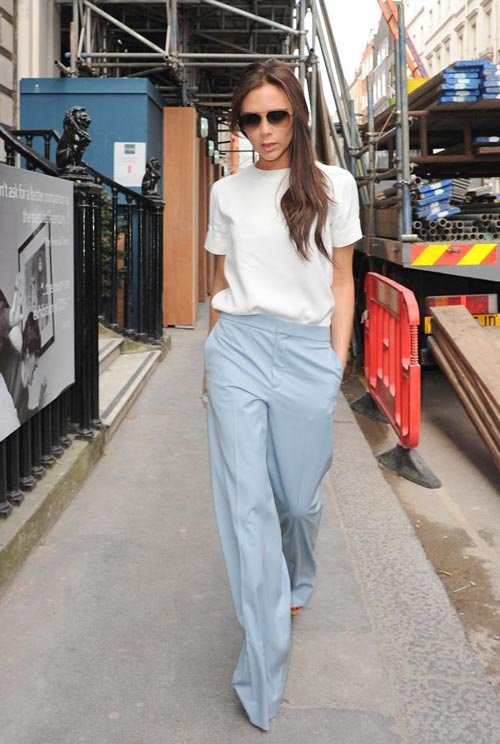 Dien style he an tuong nhu Victoria Beckham hinh anh 2