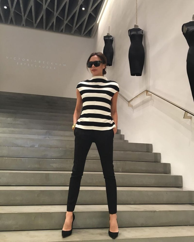 Dien style he an tuong nhu Victoria Beckham hinh anh 7