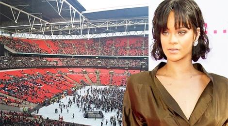 Khan gia that vong vi concert cua Rihanna vang ve hinh anh
