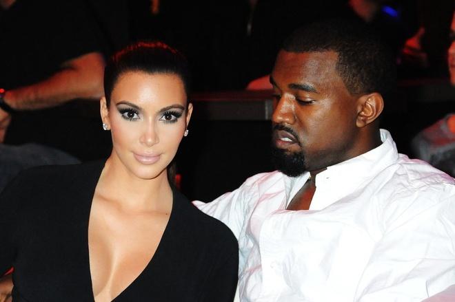 Kanye West va Kim Kardashian: Cap doi thi phi nhat Hollywood hinh anh