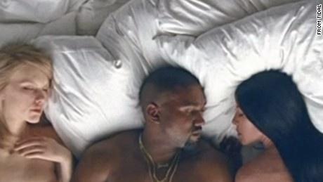 MV gay soc cua Kanye West hinh anh