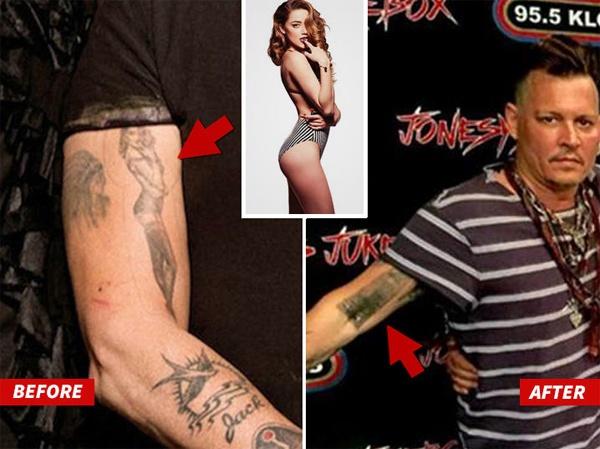 Johnny Depp am chi vo cu la rac ruoi hinh anh 2