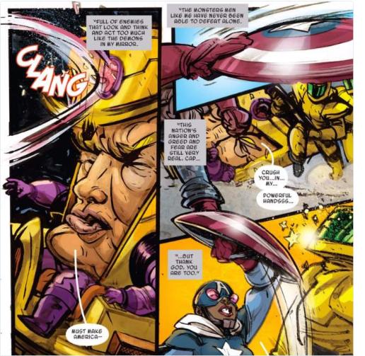 Donald Trump tro thanh sieu ac nhan o truyen tranh Marvel hinh anh 2