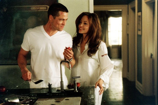Khoanh khac dep cua Brad Pitt va Angelina Jolie trong 13 nam hinh anh 1