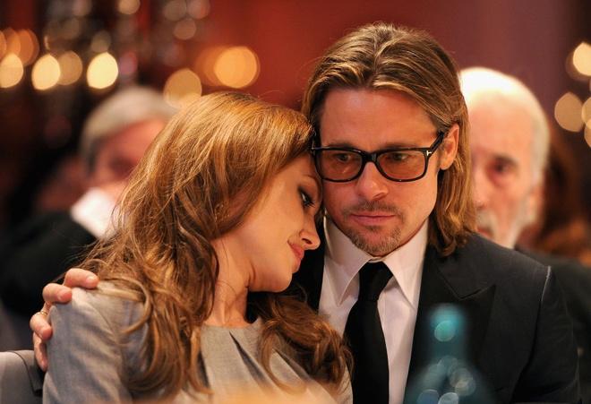 Khoanh khac dep cua Brad Pitt va Angelina Jolie trong 13 nam hinh anh 13