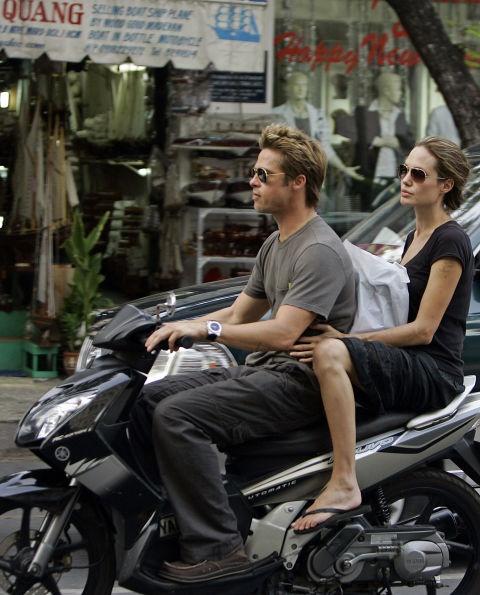 Khoanh khac dep cua Brad Pitt va Angelina Jolie trong 13 nam hinh anh 3