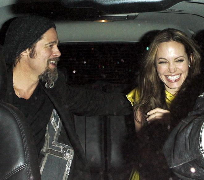 Khoanh khac dep cua Brad Pitt va Angelina Jolie trong 13 nam hinh anh 10