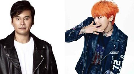 Sep YG tung tin nhan tinh cam voi G-Dragon hinh anh