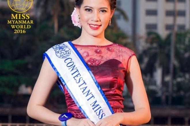 Thi sinh Hoa hau The gioi Myanmar 2016 dot tu o tuoi 24 hinh anh