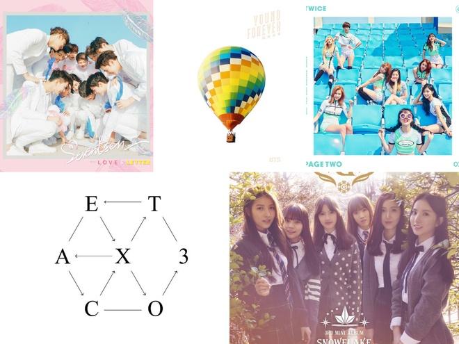 EXO va G-Friend ba chu Kpop nua dau 2016 anh 1