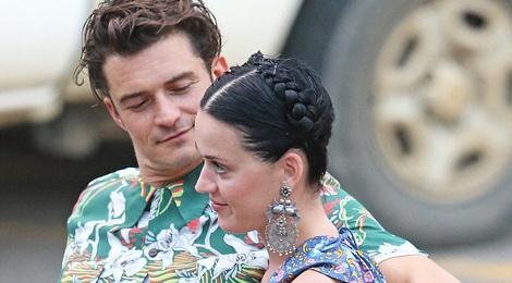 Katy Perry va Orlando ngay cang man nong hinh anh
