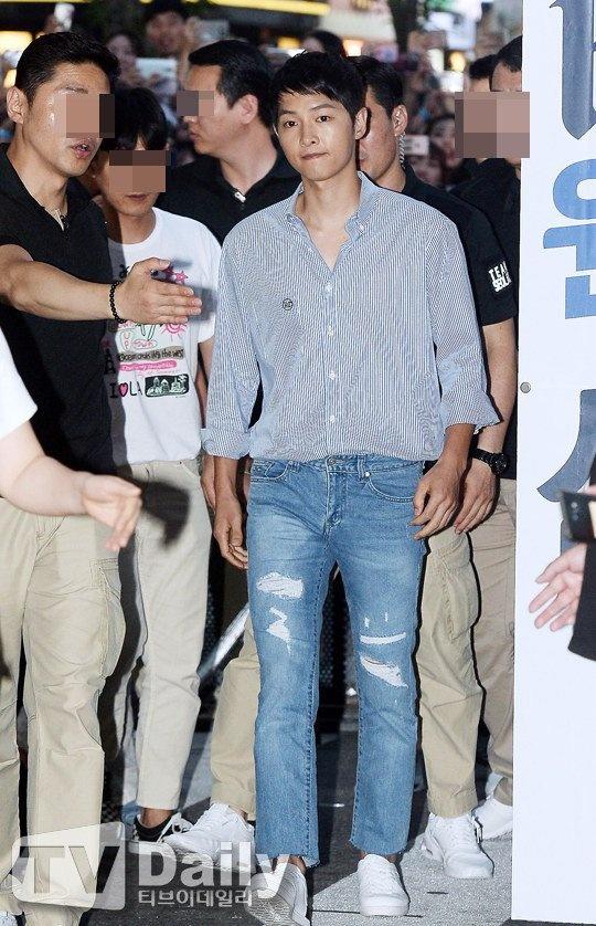 Song Joong Ki kem sac o su kien hinh anh 1
