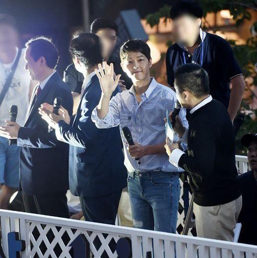 Song Joong Ki kem sac o su kien hinh anh 5