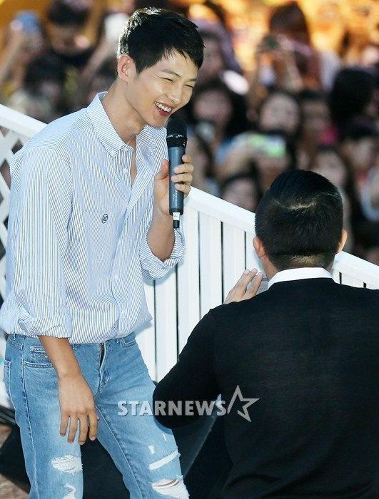 Song Joong Ki kem sac o su kien hinh anh 6