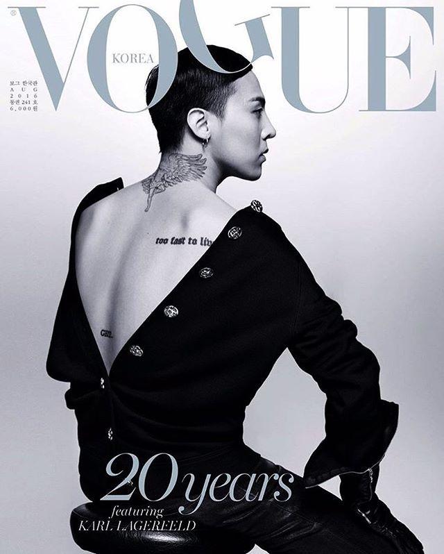G-Dragon xuat hien voi dien mao quy ba tren tap chi hinh anh 1
