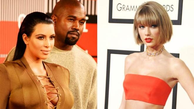 Kim Kardashian tung bang chung to Taylor Swift gia doi hinh anh