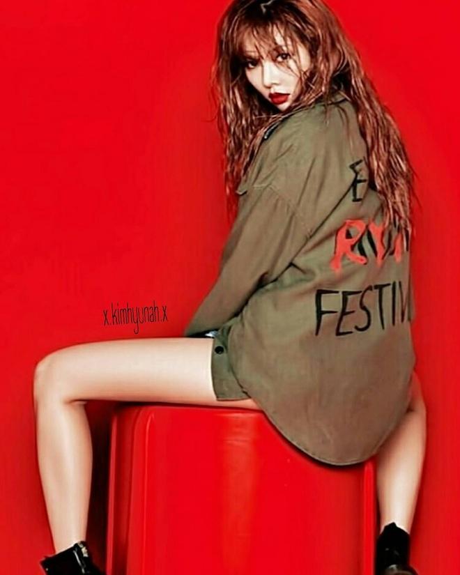 Hot girl Kpop HyunA khac la tren tap chi hinh anh 4