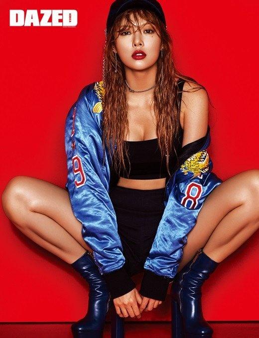 Hot girl Kpop HyunA khac la tren tap chi hinh anh 1