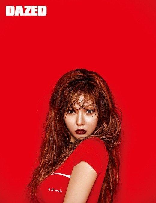 Hot girl Kpop HyunA khac la tren tap chi hinh anh 2