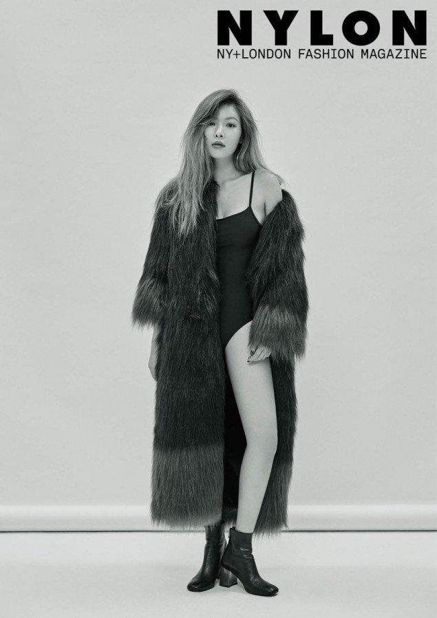 Hot girl Kpop HyunA khac la tren tap chi hinh anh 7