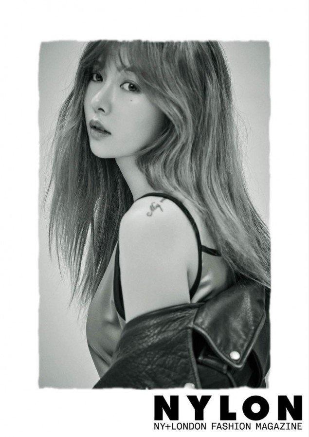 Hot girl Kpop HyunA khac la tren tap chi hinh anh 5