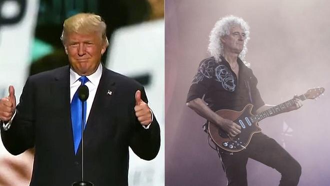 Donald Trump lien tuc bi phan doi vi dung nhac trai phep hinh anh 1