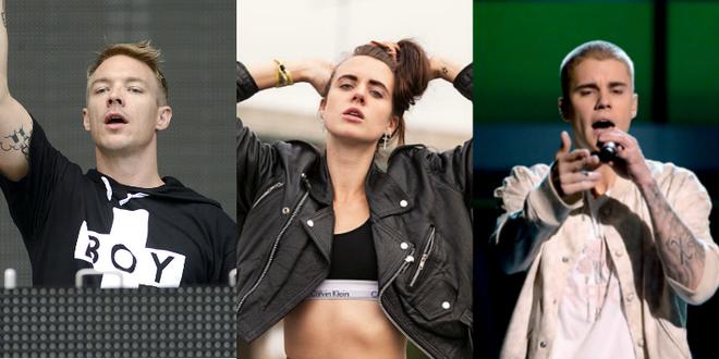 Justin Bieber phoi hop MØ, Lana Del Rey bi ro ri ca khuc hinh anh