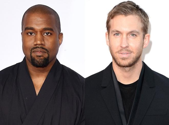 Kanye West va Calvin Harris du dinh hop tac san xuat am nhac hinh anh
