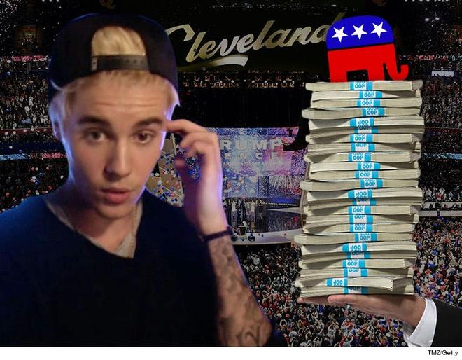 Justin Bieber tu choi bieu dien trong Dai hoi dang Cong hoa hinh anh